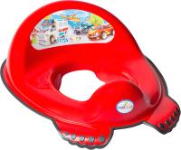 Детская накладка на унитаз Tega Машинки / CS-002-121 (красный) -
