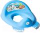 Детская накладка на унитаз Tega Машинки / CS-002-120 (синий) -