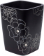 Стакан для зубной щетки и пасты Ridder Diamond Black 22160110 -