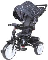 Детский велосипед с ручкой Lorelli Neo Eva Wheels / 10050332013 (Black Crowns) -
