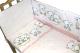 Простыня детская Баю-Бай Мишки / ПР15-ММ1 (розовый) -