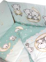 Одеяло детское Баю-Бай Ми-ми-Мишки / ОД01-ММ3 (зеленый) -