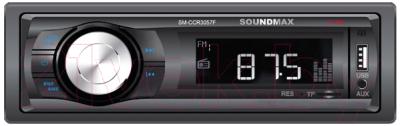 Бездисковая автомагнитола SoundMax SM-CCR3057F