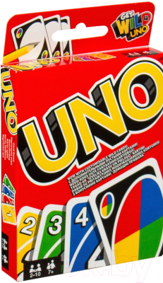 Настольная игра Mattel UNO W2087