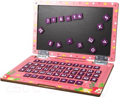 Развивающая игрушка WoodLand Toys Ноутбук Единорог / 139103