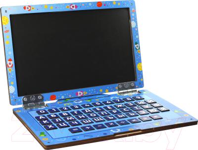 Развивающая игрушка WoodLand Toys Ноутбук Космос / 139102