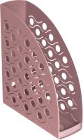 Лоток для бумаг Стамм Вега Agra / ЛТ589 (бордовый) -