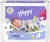 Подгузники детские Bella Baby Happy Baby Happy Start Newborn Air 2-5кг (25шт) -
