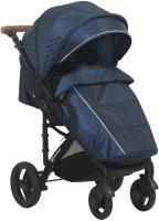 Детская прогулочная коляска Farfello Bino Angel Comfort / BAC (синий) -