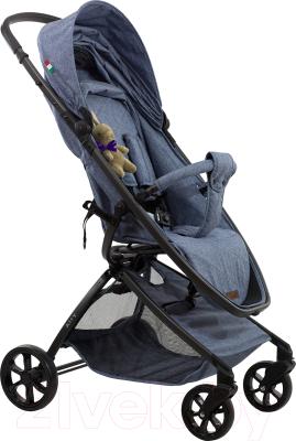 Детская прогулочная коляска Farfello Airy / A (серый/голубой)