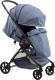 Детская прогулочная коляска Farfello Airy / A (серый/голубой) -
