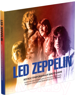 led zeppelin the ultimate collection Книга Харвест Led Zeppelin