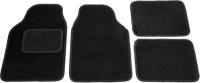 Комплект ковриков для авто Kovriki Универсальные 43x64 и 43x32 (черный) -