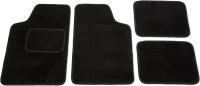 Комплект ковриков для авто Kovriki Универсальные 45x65 и 43x32 (4шт, черный) -