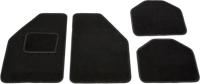 Комплект ковриков для авто Kovriki Универсальные 49x65 и 49x39 (4шт, черный) -