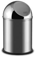 Мусорное ведро Alda Clean World 9028123 (серебристый матовый) -