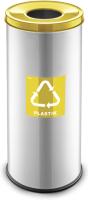 Контейнер для мусора Alda Eco Prestige 9028131 (желтый глянцевый) -