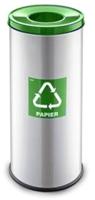 Контейнер для мусора Alda Eco Prestige 9028155 (зеленый глянцевый) -