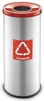 Контейнер для мусора Alda Eco Prestige 9028153 (красный глянцевый) -