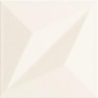 Плитка Tubadzin S-Colour White Str (148x148) -