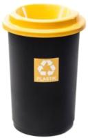 Урна уличная Plafor Eco Bin 9018174 (черный/желтый) -