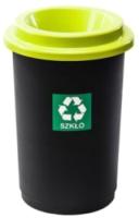 Урна уличная Plafor Eco Bin 9018175 (черный/зеленый) -