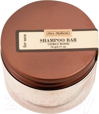 Твердый шампунь для волос Stara Mydlarnia Цитрусовое дерево (70мл)
