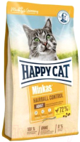 Корм для кошек Happy Cat Minkas Hairball Control Geflugel / 70417 (4кг) -