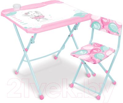 Комплект мебели с детским столом Ника КНД5/3 Балерина