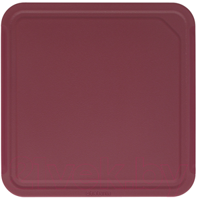 Разделочная доска Brabantia Tasty+ / 123122 (красный баклажан)