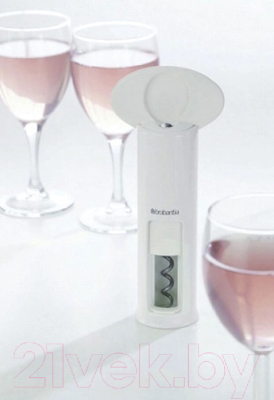 Штопор для вина Brabantia 297625 (белый)