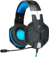 Наушники-гарнитура Oklick Snorter HS-L930G (черный/синий) -