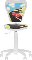 Кресло детское Nowy Styl Ministyle GTS White PL55 (Turbo) -