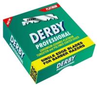 Набор лезвий для бритвы Derby Professional Extra одинарные (100шт) -