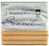 Полимерная глина Сонет Металлик / 591191183 (светлое золото) -