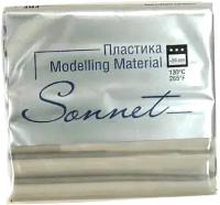 Полимерная глина Сонет Металлик / 59119118 (серебристый) -