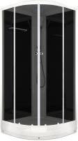 Душевая кабина Domani-Spa Delight 99 / DS01D99LBT00 (черный/тонированное стекло) -