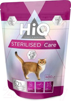Корм для кошек HiQ Adult Sterilised с мясом птицы / 45918
