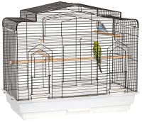Клетка для птиц Sky Pet Liberta Аризона / 5774/SK (черный/белый) -
