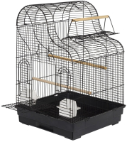 Клетка для птиц Sky Pet Liberta Джорджия / 5767/SK (черный) -