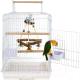 Клетка для птиц Sky Pet Rainforest Санта Моника / 1701/SK (белый) -