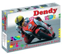 Игровая приставка Dendy Kids 300 игр + световой пистолет -