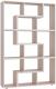 Стеллаж Сокол-Мебель Из 6 модулей (беленый дуб) -
