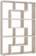 Стеллаж Сокол-Мебель Из 6 модулей (дуб сонома) -