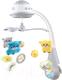 Мобиль на кроватку Baby Mix Медвежата / FS-35604 (серый) -