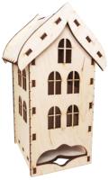 Заготовка для декупажа ПАЛИТРА Чайный домик с окнами / 692 -