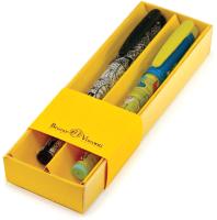 Набор шариковых ручек Bruno Visconti FreshWrite. Кедомания-1/Тату 0.7мм (2шт, 20-0214/1129) -