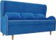 Скамья кухонная мягкая Mebelico Сэймон 251 / 105362 (велюр, голубой) -