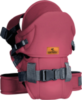 Эрго-рюкзак Lorelli Weekend Dark Red Black / 10010110001 -