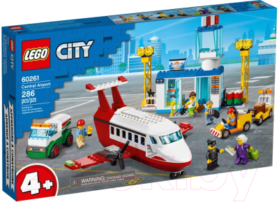 Конструктор Lego City Городской аэропорт 60261